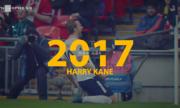 Harry Kane vượt Messi và Ronaldo, trở thành chân sút số một năm 2017