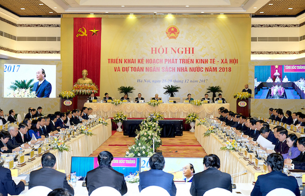 Hội nghị trực tuyến Chính phủ với các địa phương diễn ra trong hai ngày 28 và 19/12. Ảnh: VGP/Quang Hiếu