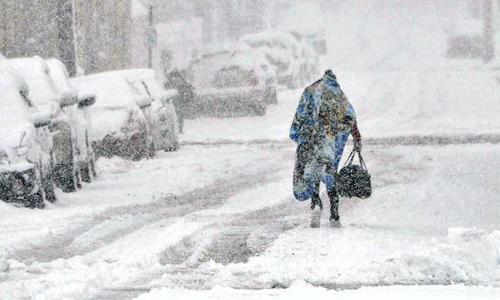 Biến đổi khí hậu có thể khiến mùa đông khắc nghiệt hơn. Ảnh: Chronicle Herald.