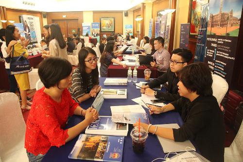 Ưu đãi lớn tại ngày hội ghi danh du học hơn 100 trường quốc tế - 1
