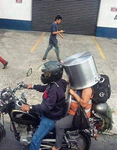 Mũ bảo hiểm thế hệ mới.