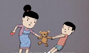 Năm cách cư xử của cha mẹ khiến con trở nên tham lam