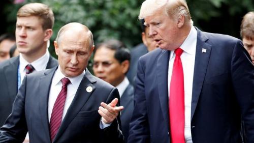 Tổng thống Nga và Mỹ trò chuyện tại hội nghị cấp cao APEC.