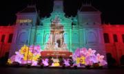 Người Sài Gòn, Hà Nội đổ về trung tâm xem trình diễn ánh sáng 3D