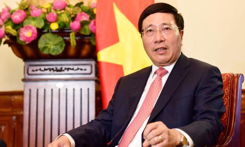 Phó thủ tướng Phạm Bình Minh. Ảnh: Giang Huy.