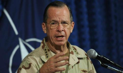 Cựu chủ tịch Hội đồng Tham mưu trưởng Mỹ Mike Mullen. Ảnh: AFP.