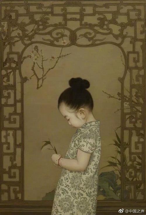 Ông bố Trung Quốc dành 10 tiếng mỗi ngày vẽ con gái