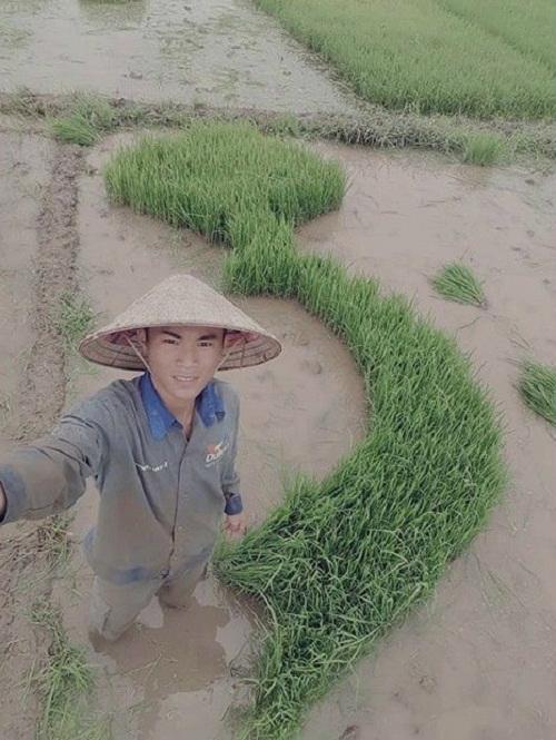 Công trình tuyệt đẹp của nông dân.