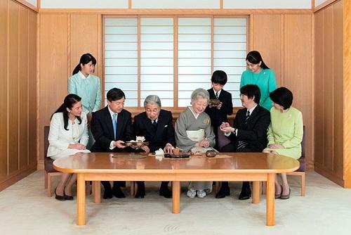 Hoàng gia Nhật Bản. Ảnh: Cơ quan Nội chính Hoàng gia.