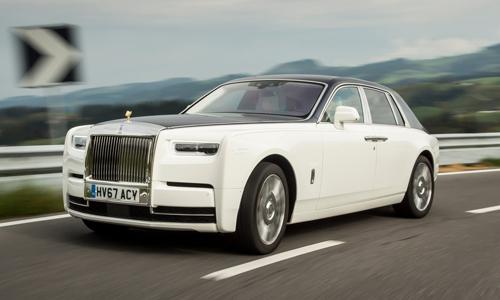 Phantom thế hệ mới phát triển dựa trên nền tảng khung nhôm mới, gọi là Architecture of Luxury.