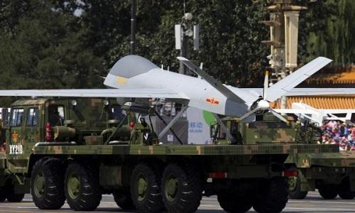 Một mẫu UAV do Trung Quốc tự phát triển. Ảnh: UPI.