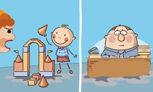 Năm vấn đề của con bắt nguồn từ bố mẹ
