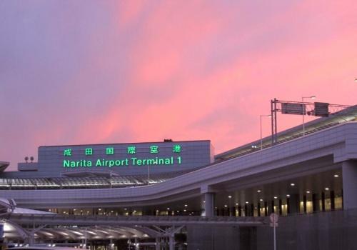 Sân bay quốc tế Narita. Ảnh: Manichi.
