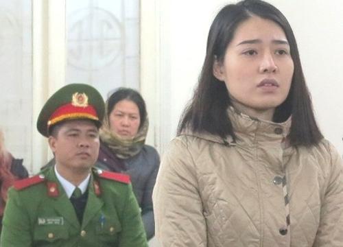Bị cáo Thoa tại phiên tòa.