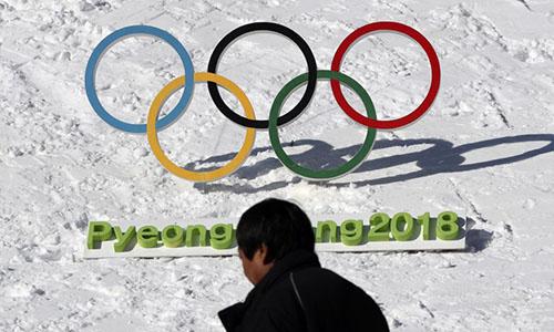 Thế vận hội mùa đôngPyeongchang, Hàn Quốc sẽ diễn ra từ ngày 9 - 25/2. Ảnh: AP.