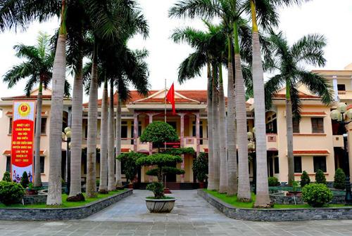 Trụ sở UBND huyện Quốc Oai, Hà Nội. Ảnh: Cổng thông tin điện tử Quốc Oai.