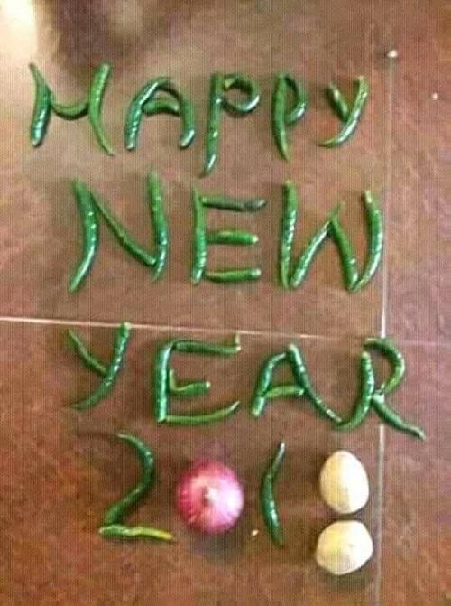 Mừng năm mới cay nồng.