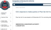 Singapore tạm giữ người mang tên 'Phan Van Anh Vu'