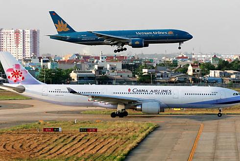 Nhiều đường bay sẽ được mở từ các thành phố lớn của Việt Nam đến Trung Quốc từ nay đến năm 2020. Ảnh: Xuân Hoa