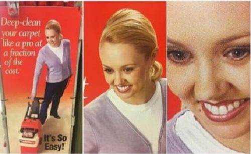 Nụ cười quảng cáo ám ảnh nhất mọi thời đại.