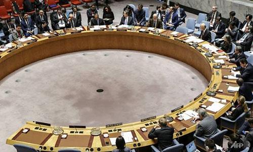 Một phiên họp của HĐBA. Ảnh: AFP.