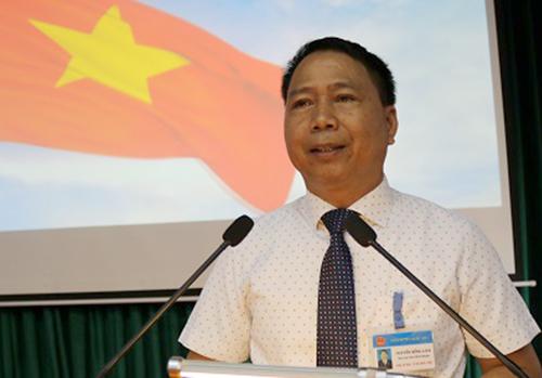 Ông Nguyễn Hồng Lâm được bầu làm chủ tịch UBND huyện Quốc Oai giữa năm 2017.