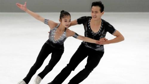 Hai vận động viên Triều Tiên có thể tham dự Olympic ở Hàn Quốc. Ảnh: AFP.