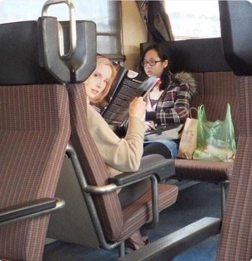 Hành khách: Người phụ nữ này đã nhìn tôi suốt 5 phút rồi!.