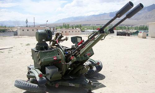 Mẫu CIWS mới sẽ thay thế các tổ hợp lạc hậu như ZU-23-2B. Ảnh: Indian Defence.