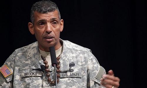 Tư lệnh các lực lượng Mỹ tại Hàn Quốc (USFK), tướng Vincent K. Brooks. Ảnh: AFP.