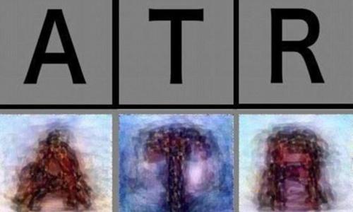 Trí tuệ nhân tạo có thể đọc suy nghĩ của con người để vẽ lại các chữ cái. Ảnh: Sun.