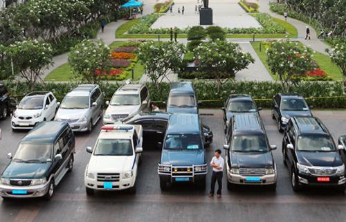 TP HCM sẽ là địa phương đầu tiên trong cả nước thí điểm cho thuê xe công. Ảnh: Trung Sơn