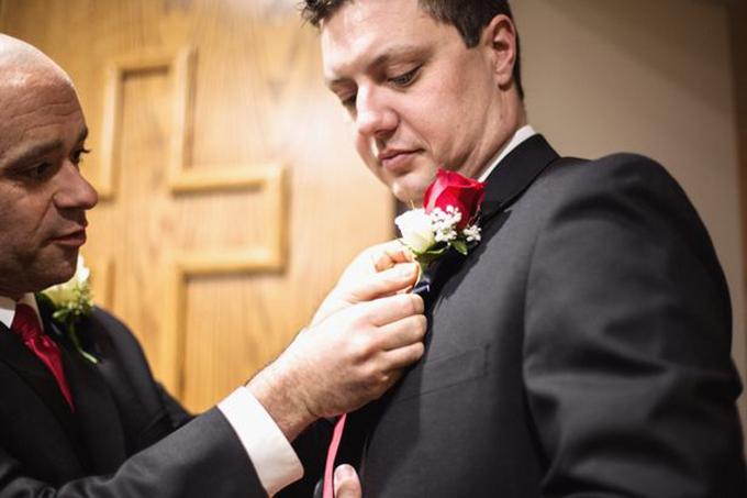 Đám cưới trước khi qua đời của cô dâu Mỹ bị ung thư