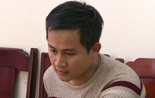 Nghi can Nguyễn Chí Linh. Ảnh: Đ.H.