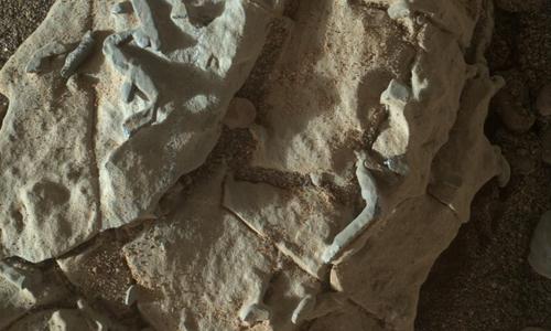 Hình ảnh mới chụp bề mặt sao Hỏa do xe thám hiểm Curiosity gửi về. Ảnh:NASA/JPL-Caltech/MSSS.