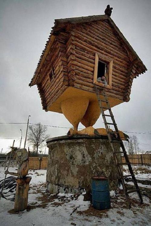Khi bạn là kiến trúc sư và bạn yêu thích gà.