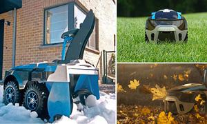 Robot dọn dẹp sân vườn '3 trong 1'