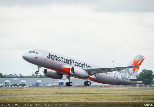 Một chuyến báy của Jetstar Pacific. Ảnh minh họa.