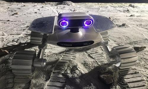 Một thiết kế robot thăm dò Mặt Trăng trong cuộc thi của Google. Ảnh: Facebook.