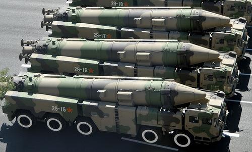 Trung Quốc có thể biên chế tên lửa đạn đạo mang HGV vào năm 2020. Ảnh: Xinhua.