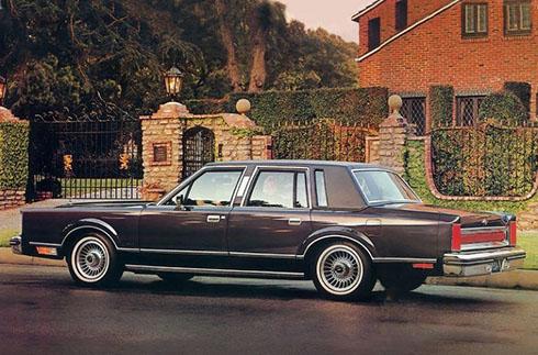 Lincoln Town Car 1983.