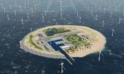 Trại điện gió ngoài khơi cấp điện cho 6 nước châu Âu