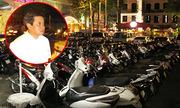 Ông Đoàn Ngọc Hải ơi, chỉ có cấm xe máy mới dẹp được vỉa hè
