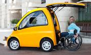 Ôtô điện dành riêng cho người ngồi xe lăn