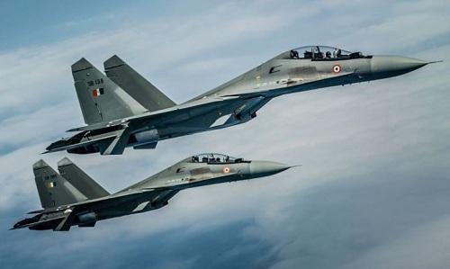 Tiêm kích Su-30MKI của không quân Ấn Độ. Ảnh: Defence Blog.