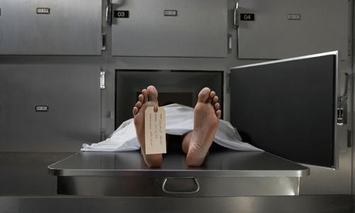 Một tử thi được bảo quản tại nhà xác. Ảnh minh họa: Digital Vision.