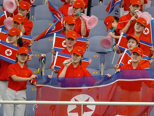 Đội cổ vũ toàn mỹ nữ Triều Tiên mang tới Thế vận hội Mùa đông - 1