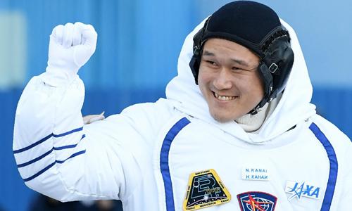 Phi hành giaNorishige Kanai đang thực hiện nhiệm vụ trên trạm ISS. Ảnh: Newsweek.