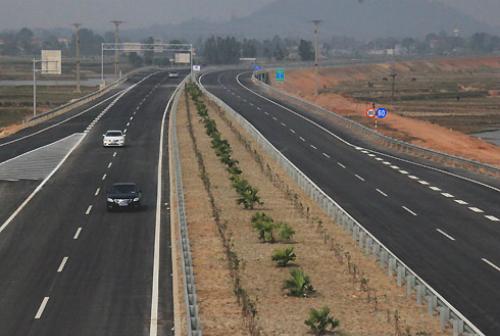 Cao tốc Nội Bài - Lào Cai. Ảnh: ĐL