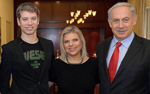 Gia đình thủ tướng Israel. Ảnh: Time of Israel